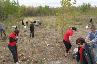 Plantation En route - 29 septembre 2014